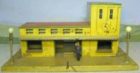 Kibri Railway-Stations Railway station #1/52/10 with a...