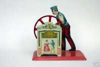 Bing Steam Toys-Drive Models Organ player #10/292 with...