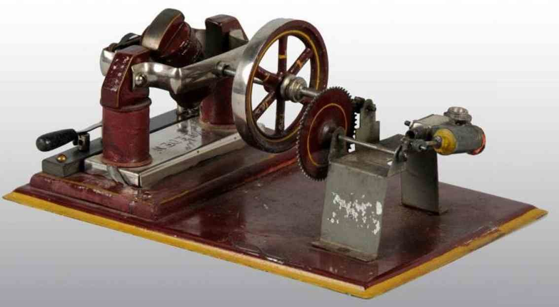 Database for old toys for History of the electric motor