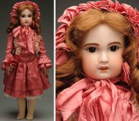 SFBJ Dolls Bisque socket head bébé baby doll, head...