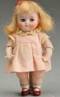 Kestner J. D. Dolls All-bisque Googly with jointed elbows...