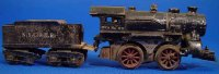 Ives Railway-Locomotives Steam locomotive in silver...