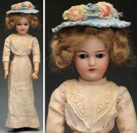 Simon & Halbig Dolls Bisque socket head lady doll, head...