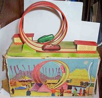 Hoefler J H Tin-Toys Carnival ride, Lop the Lop Acrobatic...