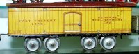 Ives Railway-Freight Wagons Box car  #125 with eight...