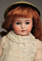 Simon & Halbig Dolls Bisque socket head characater child...
