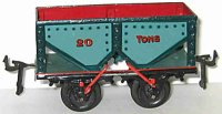Bing Railway-Freight Wagons Coal hopper car #13668 with...
