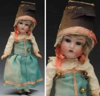 Kestner J. D. Dolls Bisque socket head child doll, head...