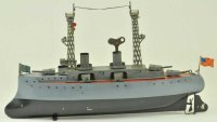 Bing Tin-Ships Battleship #155/125 tin painted in...