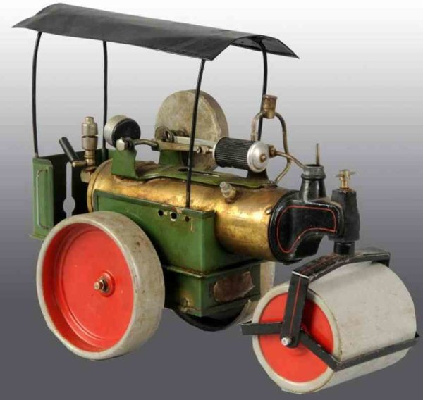 Fleischmann Steam Engines-Mobile Lokomobile Steam roller  includes a whistle, a steam pressure gauge