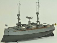 Bing Tin-Ships Battleship #155/214 clockwork driven,...