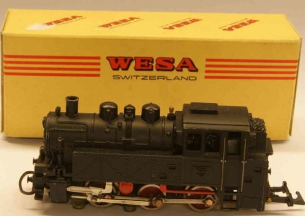 Wesa Lokomotiven Tenderlokomotive C, BR 80 DB, in schwarz