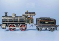 Bing Railway-Locomotives Clockwork steam locomotive...