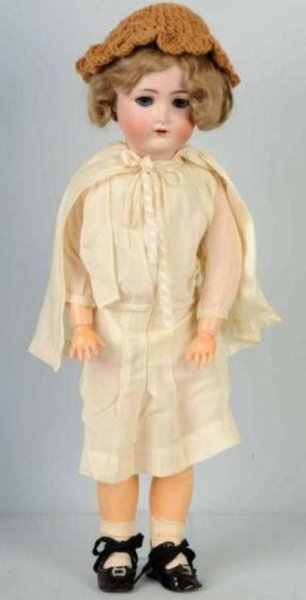 Huelss Adolf Dolls Bisque girl from Simon & Halbig for Adolph Hulss, mold no. 1