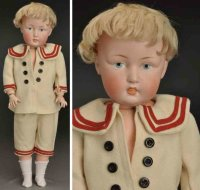 Kestner J. D. Dolls Bisque socket head character child...