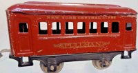 Lionel Railway-Passenger Cars Pullman car #600.3 with...