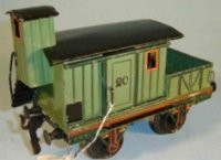 Maerklin Railway-Freight Wagons Auxiliary carriage...
