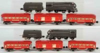 Lionel Railway-Trains Passenger train set include torpedo...