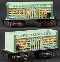 Maerklin Railway-Freight Wagons Gondola #1870/1 with...