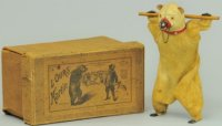 Martin Fernand Tin-Figures Performing bear #193 outfitted...