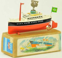 Arnold Tin-Ships Ocean liner U.S. Zone Germany,...
