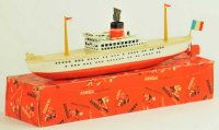 Arnold Tin-Ships Ocean liner lithographed tin, 2000...