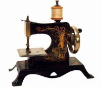 Casige Toy sewing machines Sewing machine with fairy tale...