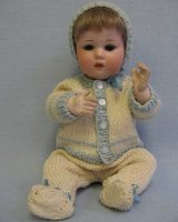 Borgfeldt George & Co Dolls Character baby has a bisque...