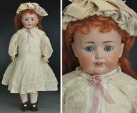 Kestner J. D. Dolls Bisque socket head characater child...