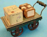 Maerklin Railway-Platform Accessories Baggage cart...