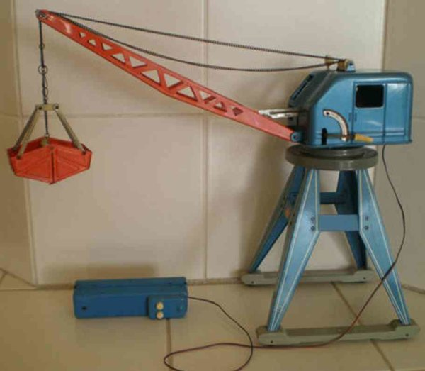 GAMA Railway-Cranes Railroad crane with remote control battery-operated, made in