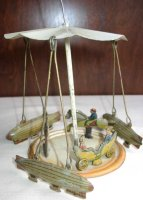 Guenthermann Tin-Carousels Carousel wind-up toy, it does...