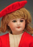 UNIS FRANCE Dolls Bleuette French bisque doll identified...