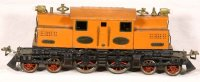 Ives Railway-Locomotives Locomotive orange with green...