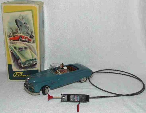 Archer & Sons Tin-Cars Primat Cabrio Convertible Tin Remote Control Toy Car in the