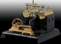 Doll Steam Toys-Horizontal Steam Engines Double boiler...