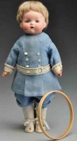 Marseille Armand Dolls Bisque flange head caracter child...