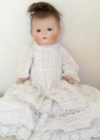 Marseille Armand Dolls Baby girl doll, marked AM 355/5....