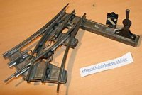 Maerklin Railway-Rails/Power Cross flank to the right,...