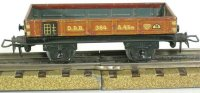 Maerklin Railway-Freight Wagons Low sided car #364 with...