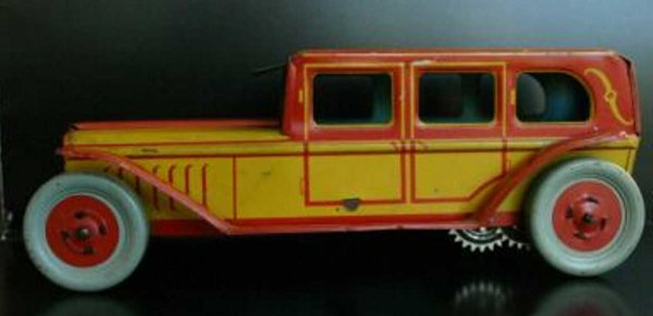 Chein Co. Tin-Oldtimer Limousine wind-up toy