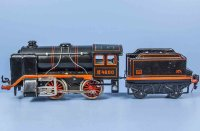 Bub Railway-Locomotives Clockwork steam locomotive #4800...