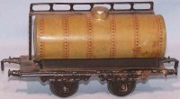 Doll Railway-Freight Wagons Tank car No. 5/566 with four...