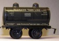 Bing Railway-Freight Wagons Tank car #525/? With four...