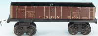 Bing Railway-Freight Wagons American high-sided car...