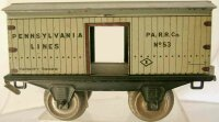 Lionel Railway-Freight Wagons Box car in white; 2-axis,...
