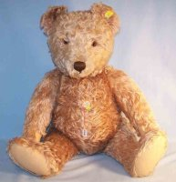 Steiff Baers Teddy bear made of mohair, wood wool and...