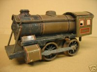 Bub Railway-Locomotives Clockwork steam locomotive #540...