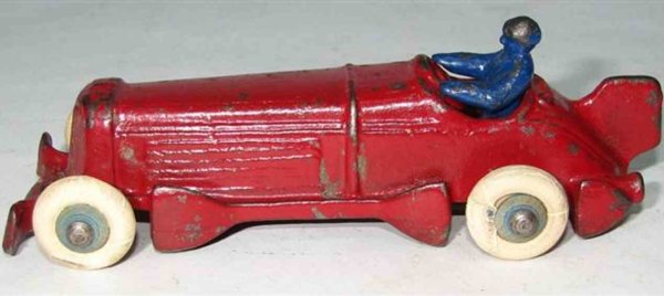 Champion Hardware Company Cast-Iron Race-Cars Race car The body is cast in one piece with a separate
