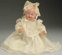 Kley & Hahn Dolls Bisque socket head character baby doll...